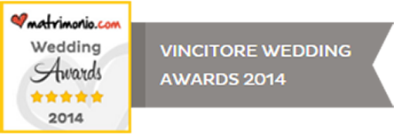 Vincitore Wedding Awards 2014